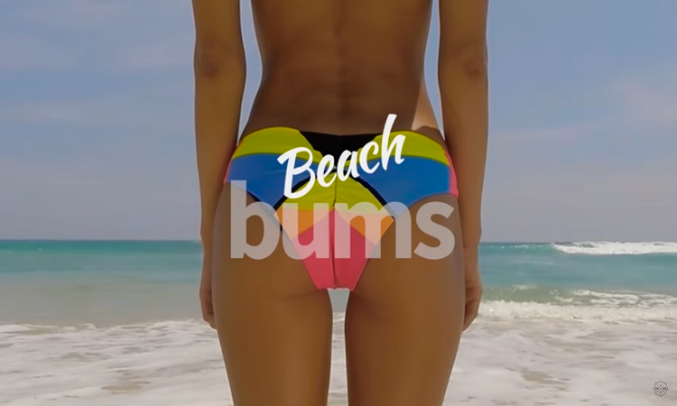Sri Lanka's tourism ad is an ass-travanganzant affair. Quiteliterally.