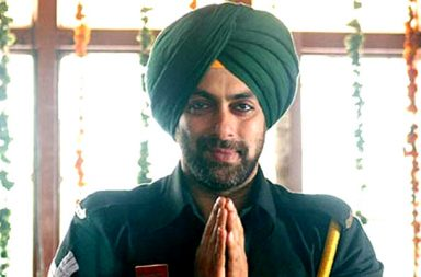 Salman Khan sikh in Heroes still