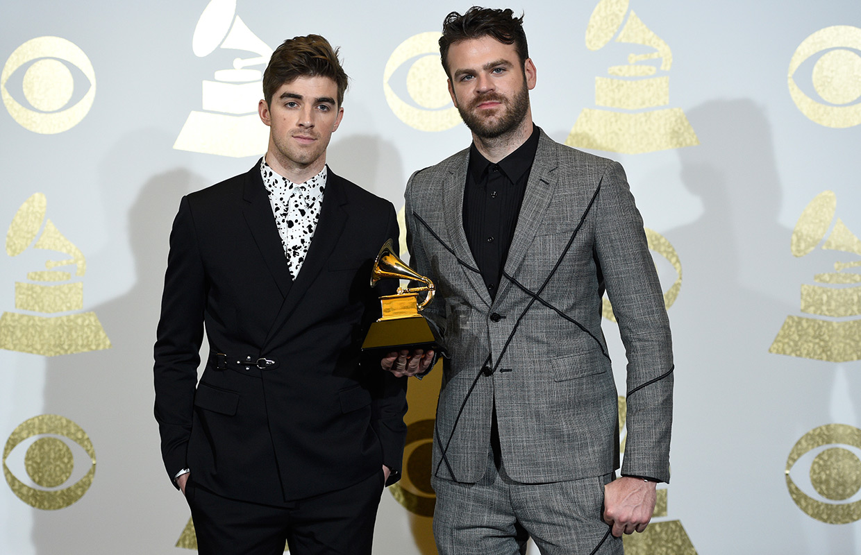 The Chainsmokers Alex Pall Andrew Taggart AP