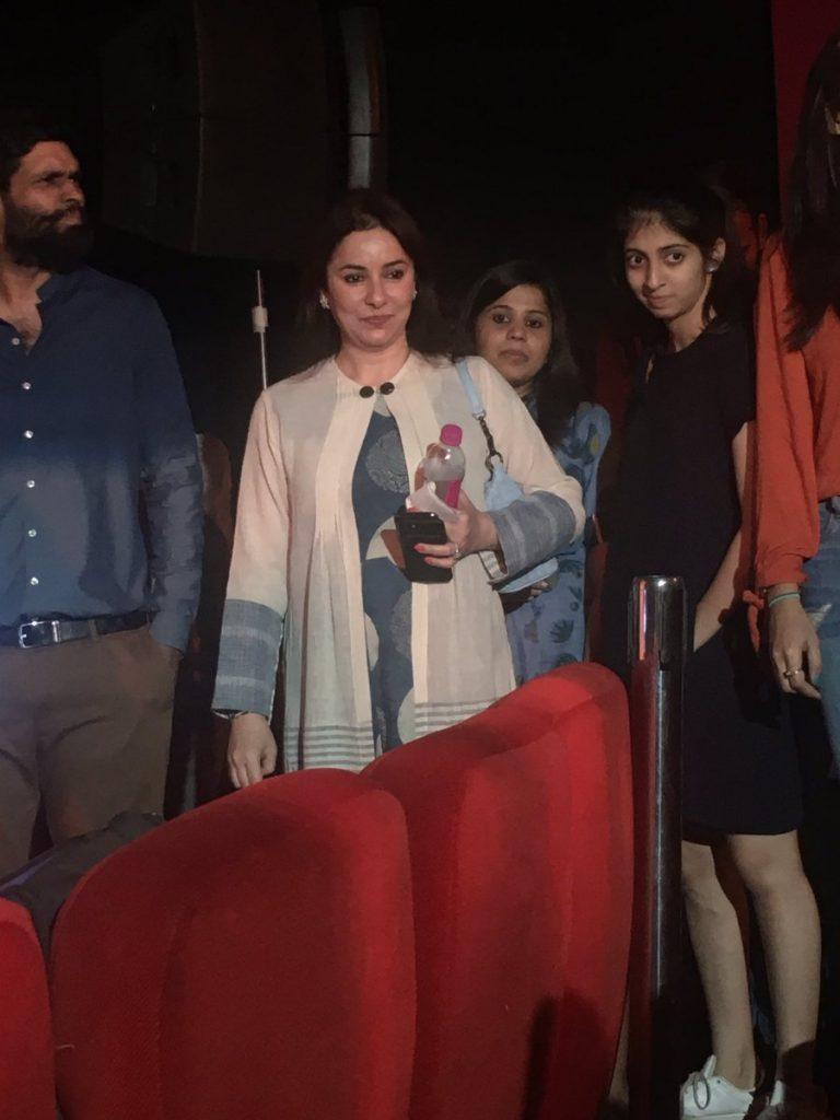 Anjali Tendulkar at the trailer launch (PIC Twitter)