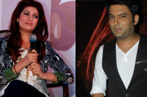 Twinkle Khanna with Kapil Sharma
