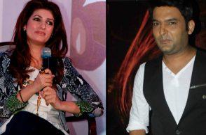 Twinkle Khanna with Kapil Sharma