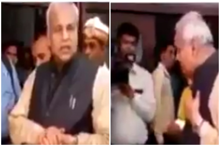 Watch: UP Minister insults disabled worker, questions how he was given thejob