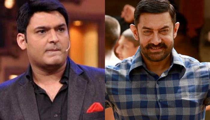 Kapil Sharma and Aamir Khan.