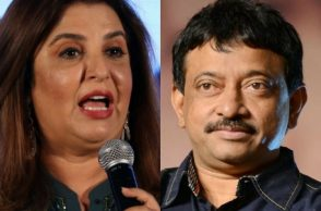 Farah Khan and Ram Gopal Varma.