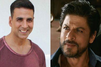 Akshay Kumar and Shah Rukh Khan