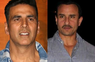Akshay Kumar and Saif Ali Khan.