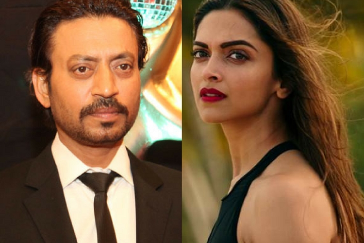 Deepika Padukone to REUNITE with Irrfan Khan in her next, post 'Padmavati'