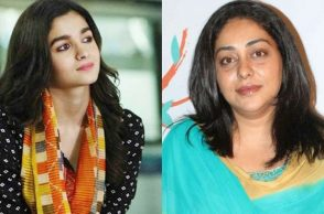 Alia Bhatt and Meghna Gulzar.