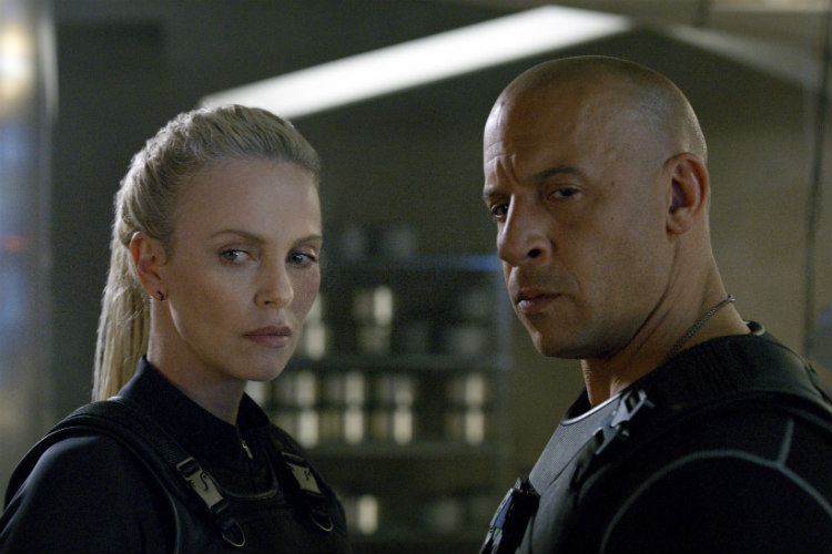 Vin Diesel Fate of the Furious Universal Pictures