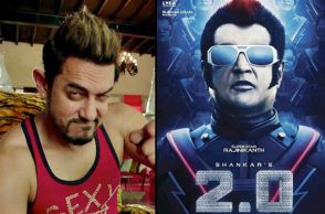 Aamir Khan and Rajinikanth (Courtesy: Twitter)