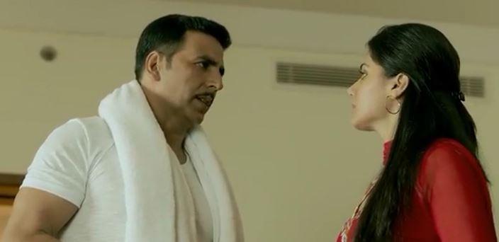 Akshay Kumar and Taapsee Pannu (Courtesy: Twitter/@akshaykumar_27)