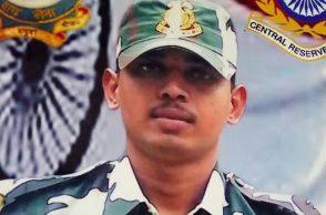 CRPF Jawan Alugapandi