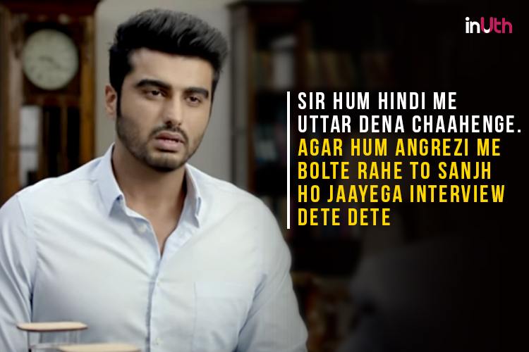 Arjun Kapoor in a still from Half Girlfriend. (Courtesy: YouTube/Balaji Motion Pictures)