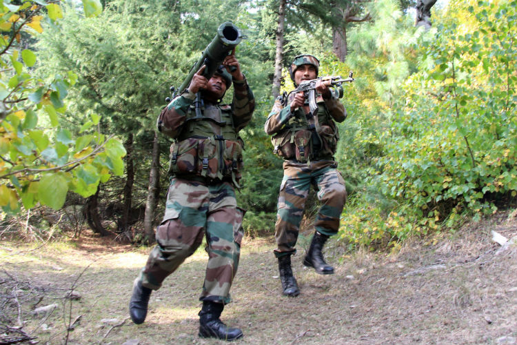 Militants kill 3 Indian soldiers in attack on base in Kashmir