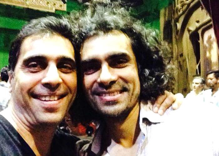 Ashely Lob and Imtiaz Ali (Courtesy: Twitter/@_AshleyLobo)