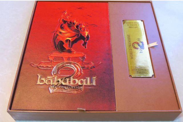 Baahubali's invite