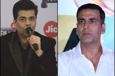 Karan Johar and Akshay Kumar