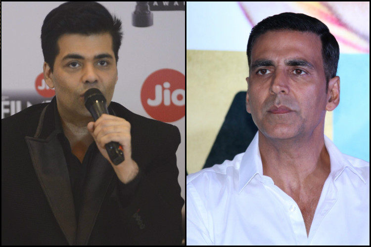 Karan Johar doesn't agree that Akshay Kumar's National award win was without merit