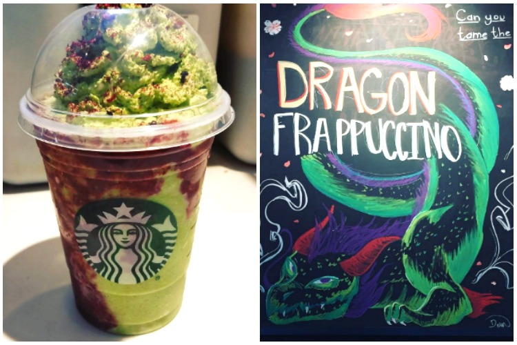 Starbucks sneakily release a Dragon Frappuccino and it looks refreshing