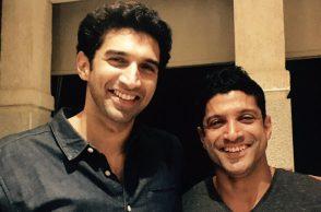 Farhan Akhtar and Aditya Roy Kapur (Courtesy: Twitter/@FarOutAkhtar)