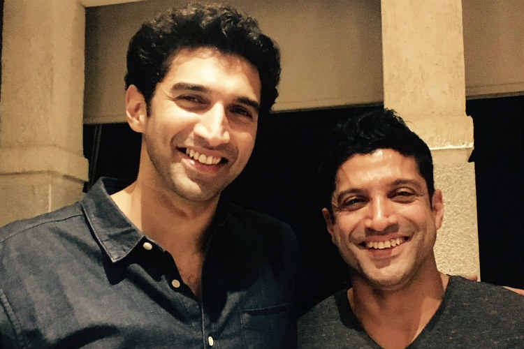RIP rumours: Farhan Akhtar tweets picture with Aditya Roy Kapur after reports of 'ugly spat' over Shraddha Kapoor