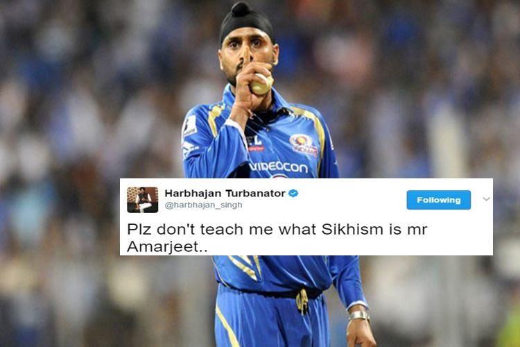 Harbhajan accuses Jet Airways pilot of racism, calls for strict action