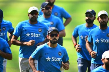 India's  captain Virat Kohli during the nets practice  ahead of 4th Test match against England held at Wankhade Stadium, Churchgate. Express Photo by Kevin D'Souza. 06.12.2016. Mumbai. *** Local Caption *** India's  captain Virat Kohli during the nets practice  ahead of 4th Test match against England held at Wankhade Stadium, Churchgate. Express Photo by Kevin D'Souza. 06.12.2016. Mumbai.