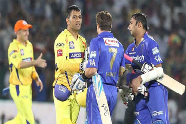 Chennai Super Kings and Rajasthan Royals set to make a comeback in next IPL