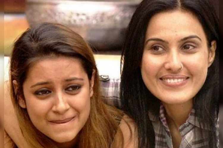 Kamya Punjabi and Pratyusha Banerjee (Courtesy: Twitter@Love4TV )