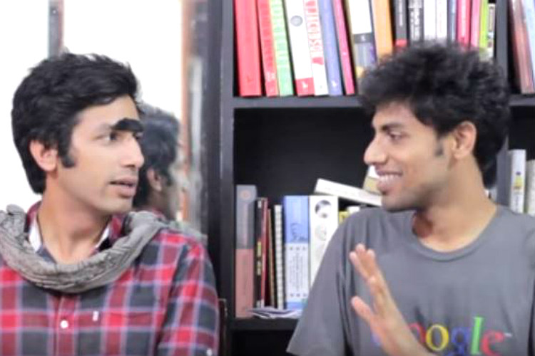 Kanan Gill and Biswa Kalyan Rath (Courtesy: Twitter/@my_bae_kevin )