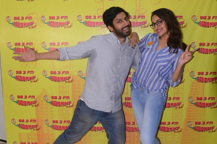 Kanan Gill and Sonakshi Sinha (Courtesy: Varinder Chawla)