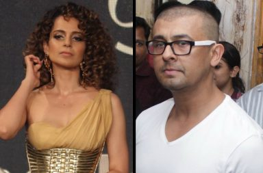 Kangana Ranaut and Sonu Nigam (Courtesy: IANS)