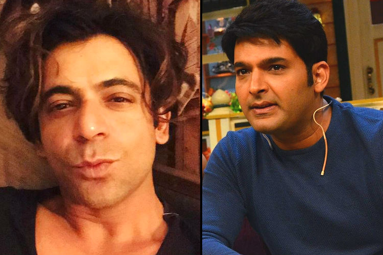 Kapil Sharma and Sunil Grover (Courtesy: Sunil Grover's pic: Instagram/whosunilgrover; Kapil Sharma's pic: IANS)