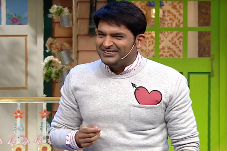 Kapil Sharma in a still from The Kapil Sharma Show. (Courtesy: YouTube/Set India)