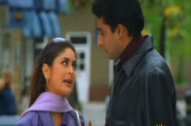Kareena Kapoor and Abhishek Bachchan in K3G (Courtesy: YouTube/Dharma Productions)