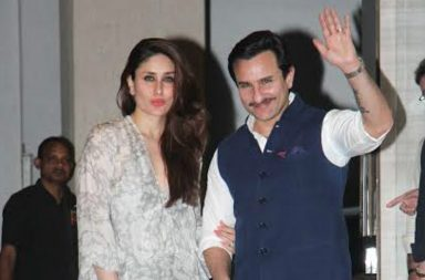 Kareena Kapoor and Saif Ali Khan (Courtesy: Varinder Chawla)