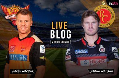 Shane Watson, David Warner, RCB vs SRH