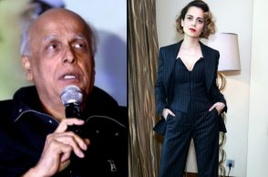 Mahesh Bhatt and Kangana Ranaut (Courtesy: IANS)