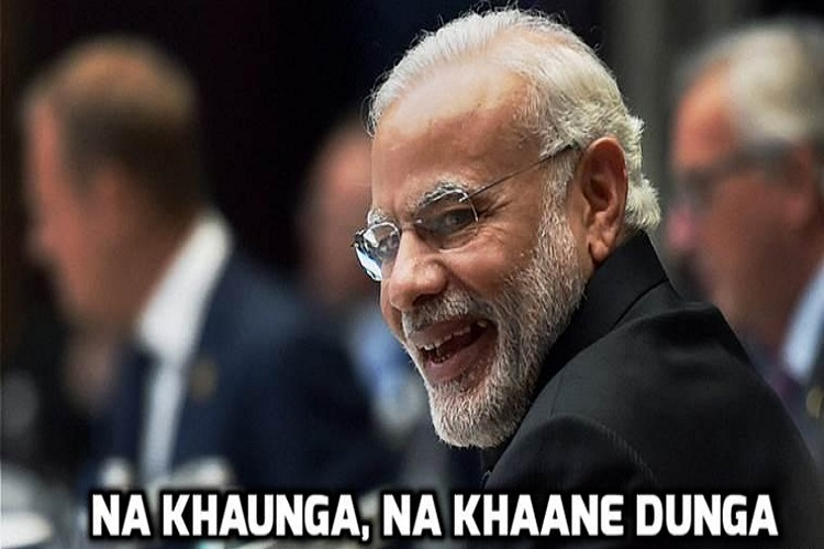 PM Modi says 'Na khaunga, Na khane dunga' but corruption complaints go up by 67%
