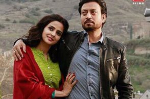 Irrfan Khan, Saba Qamar, Hindi Medium