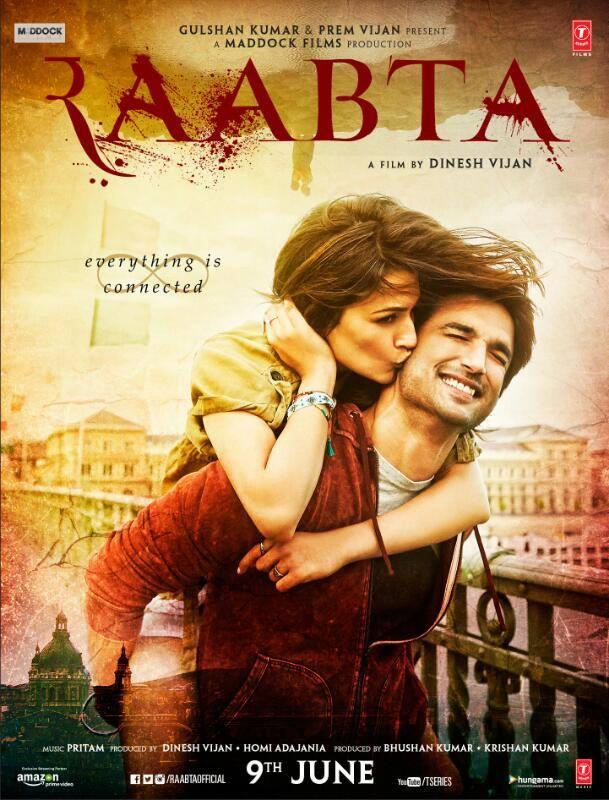 First poster of Raabta