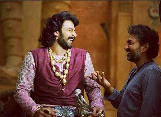 Prabhas and Rajamouli