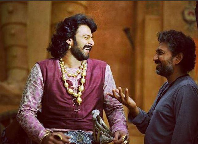 Prabhas and Rajamouli