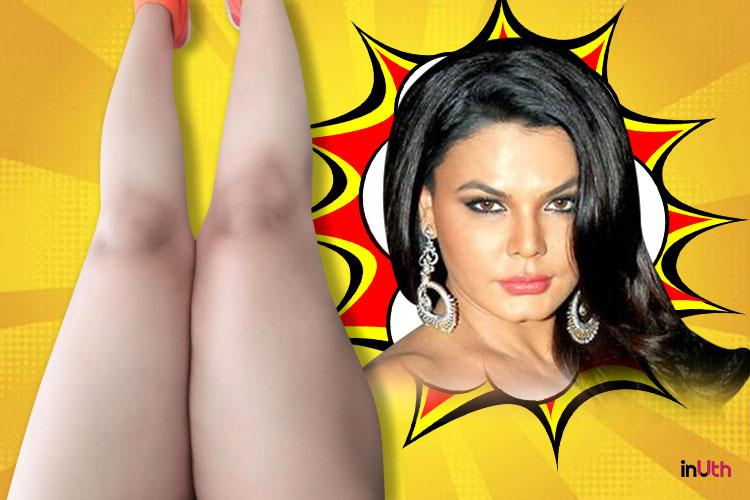 rakhi swant after not getting arrested, rakhi sawant's 'legs just did waxing