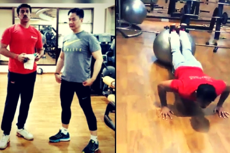 Watch: Think Modi's cabinet is all about work? Kiren Rijiju and Rajyavardan Rathore are here with fitnessgoals