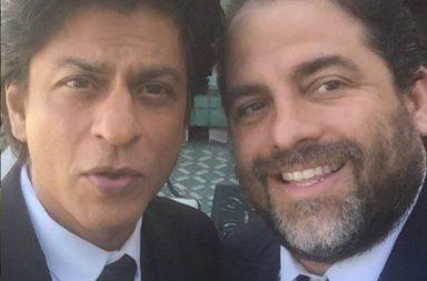 Shah Rukh Khan and Brett Ratner (Courtesy: Instagram/brettrat)