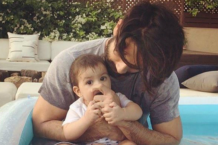 Shahid Kapoor dances with baby Misha on this International Dance Day