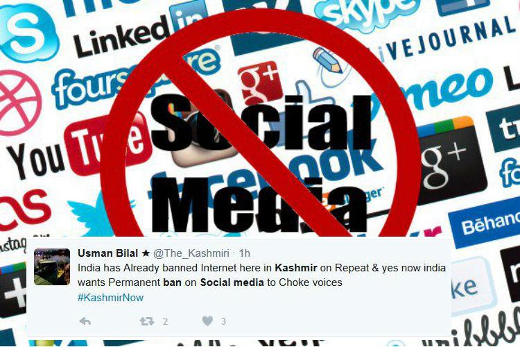 'Switching off Kashmir doesn't erase truth,' Twitter panics as govt mulls ban on social media inJ&K