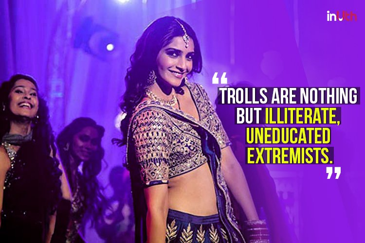 'Naachne-wali' Sonam Kapoor lashes back at trolls, says 'not a coward, will talk without fear'